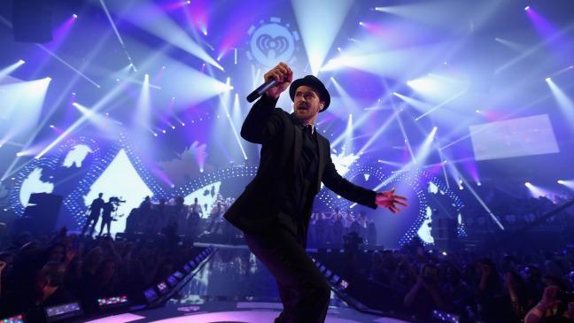 Justin Timberlake iHeartRadio - H - 2013