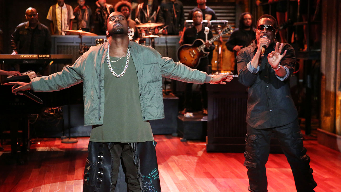 Kanye West Performing on Jimmy Fallon - H 2013