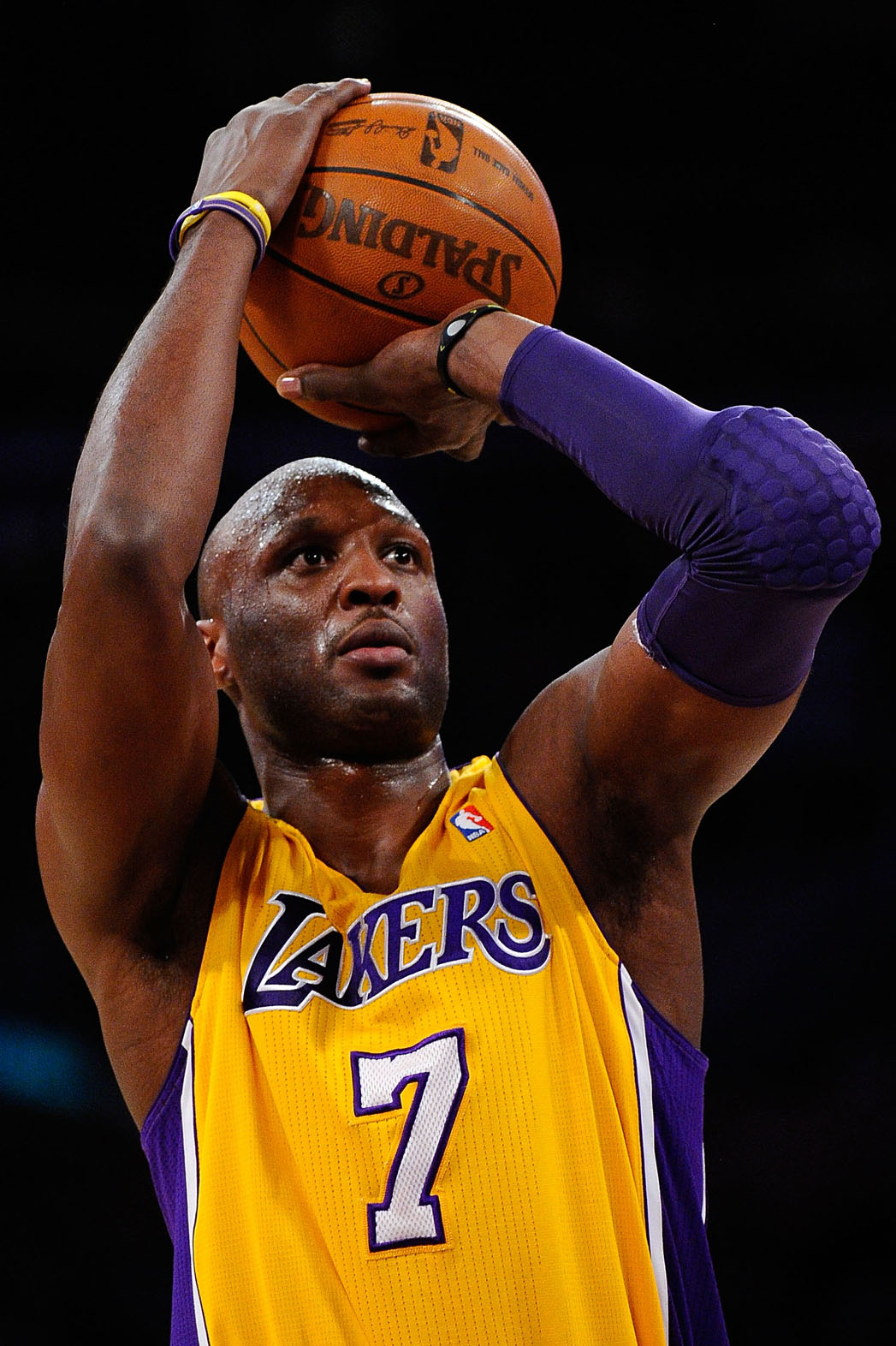 Lamar Odom Lakers - P 2013