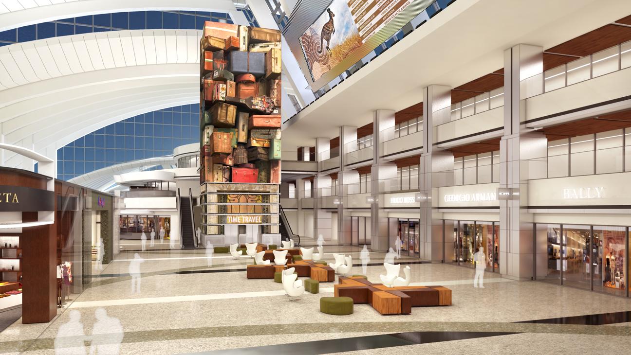 LAX Tom Bradley Int'l Terminal - H 2013