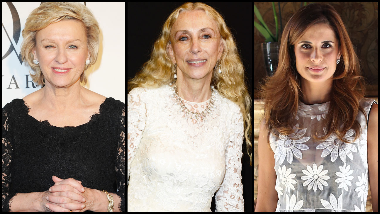 Livia Firth Tina Brown Franca Sozzani Split - H 2013