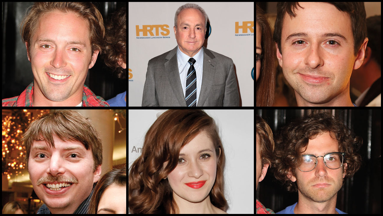 Lorne Michaels SNL Cast - H 2013