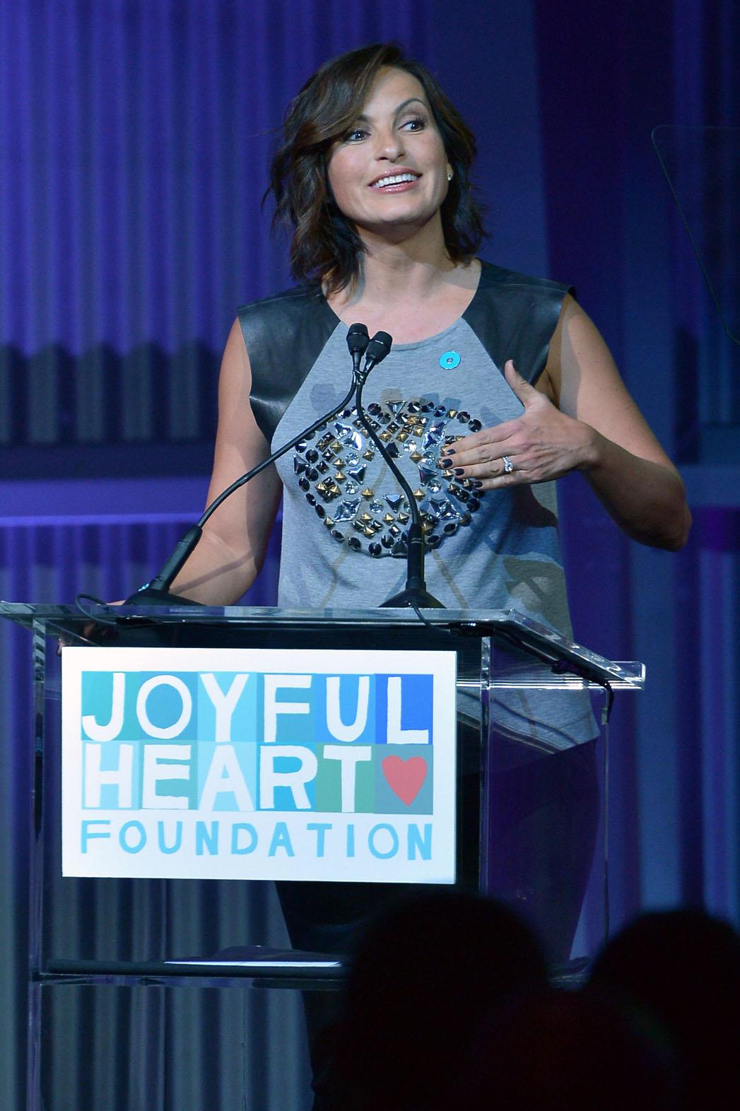 Mariska Hargitay Joyful Heart - P 2013