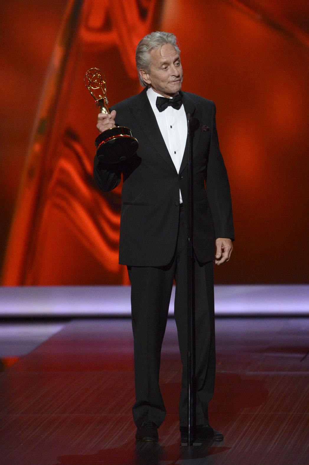 Michael Douglas Emmys - P 2013