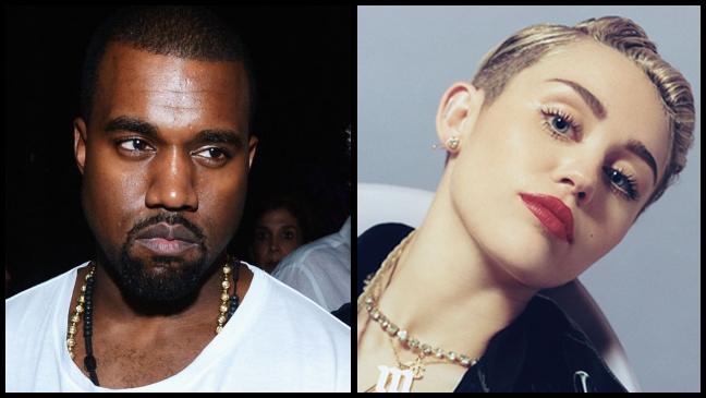 Miley Cyrus Kanye West split L
