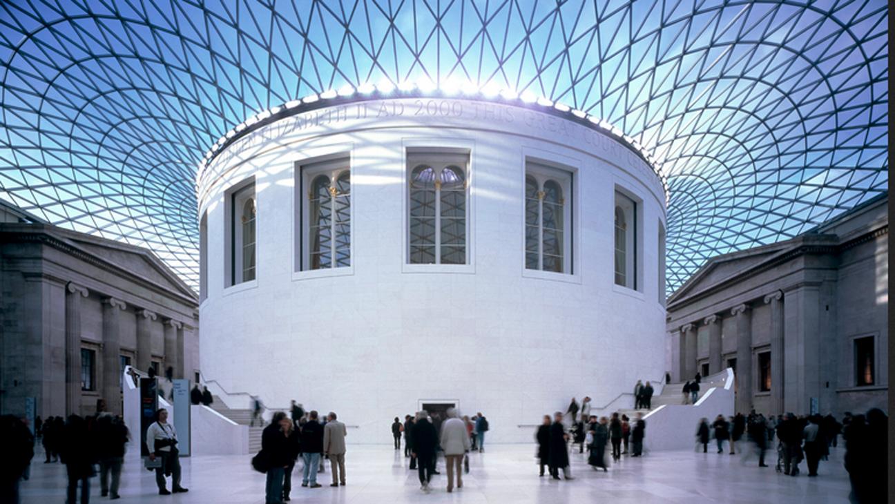 British Museum Exterior - H 2013