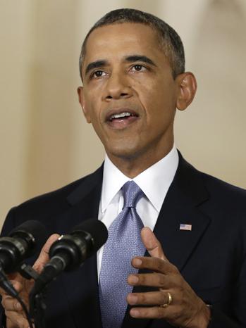 President Obama Syria Speech - P 2013