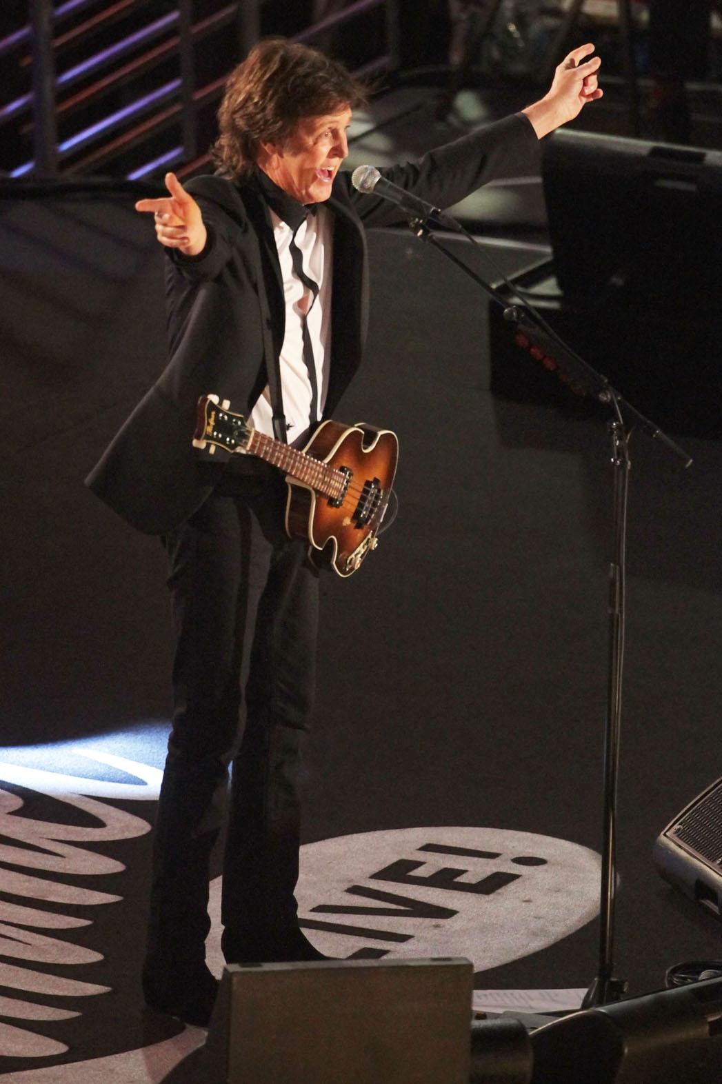 Paul McCartney Jimmy Kimmel Live - P 2013