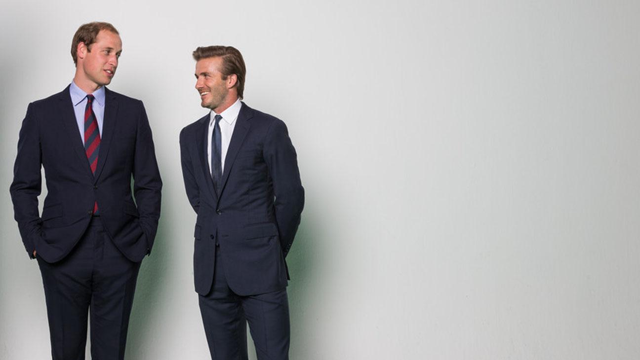 Prince William David Beckham - H 2013