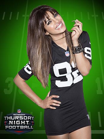 Priyanka Chopra NFL 2013 P