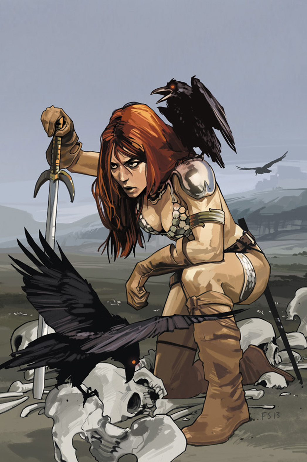 Red Sonja Cover - P 2013