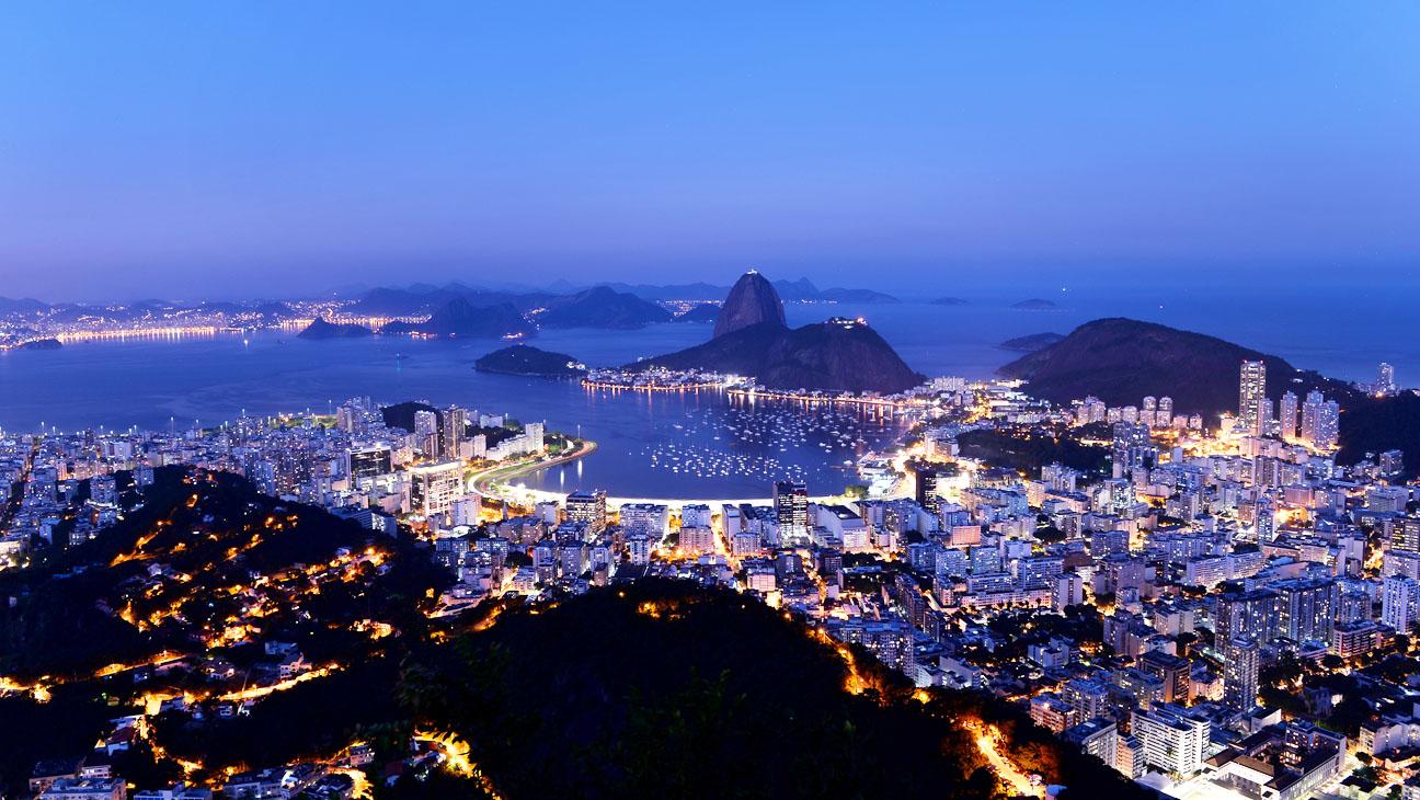 Rio de Janeiro City Landscape - H 2013