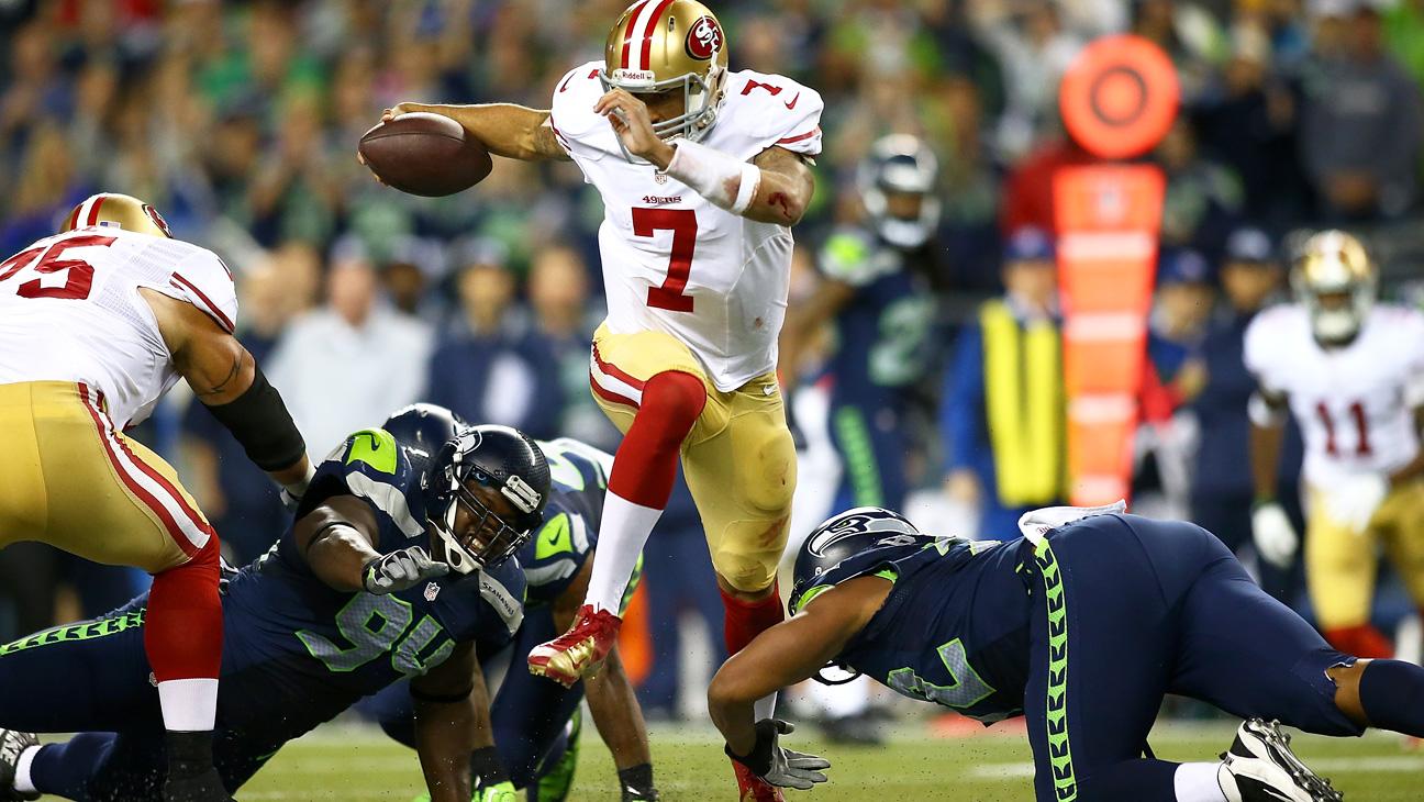 Seattle Seahawks San Francisco 49ers 9/15- H 2013