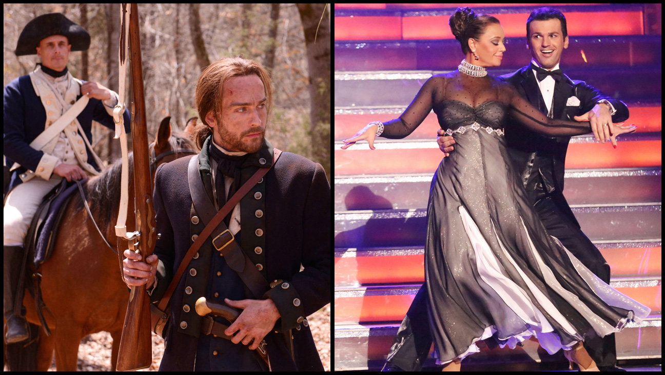 Sleepy Hollow Dancing with the Stars Split - H 2013