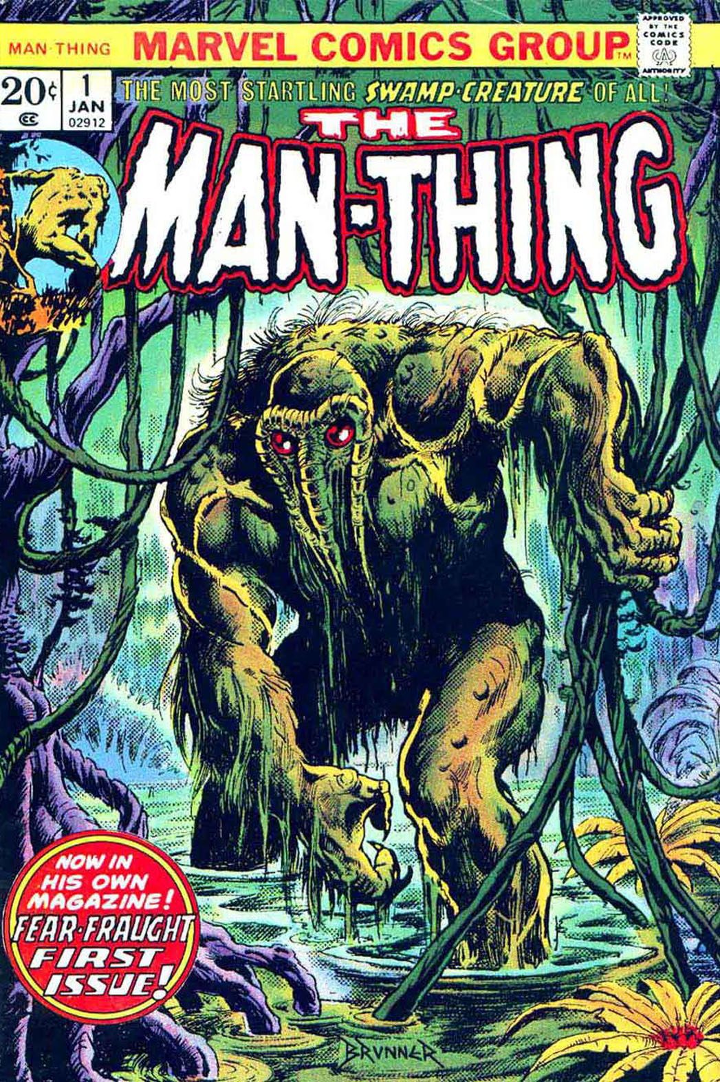The Man Thing Comic - P 2013