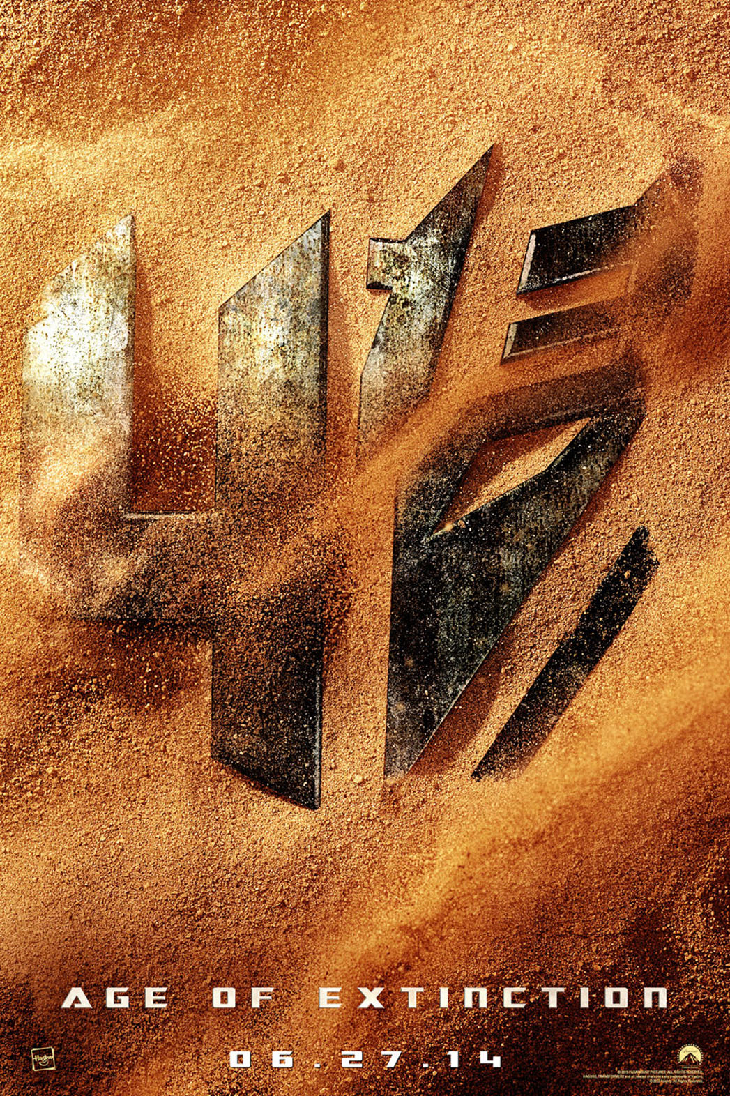 Transformers 4 Age of Extinction Poster Art - P 2013