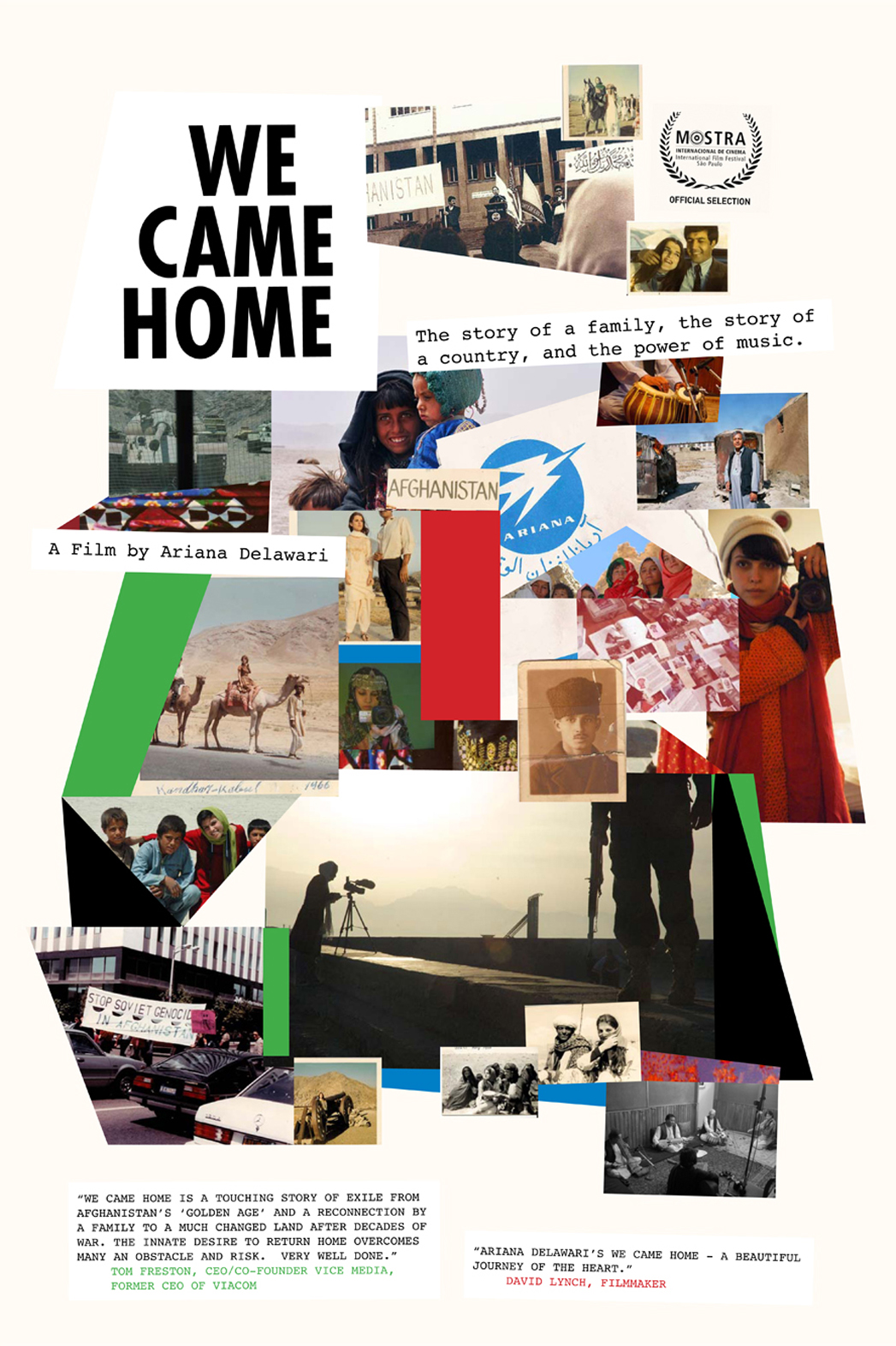 We Came Home One Sheet - P 2013