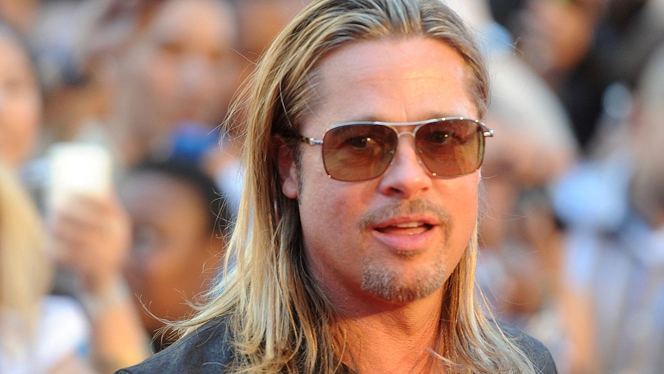 Brad Pitt Hair Horizontal - H 2013