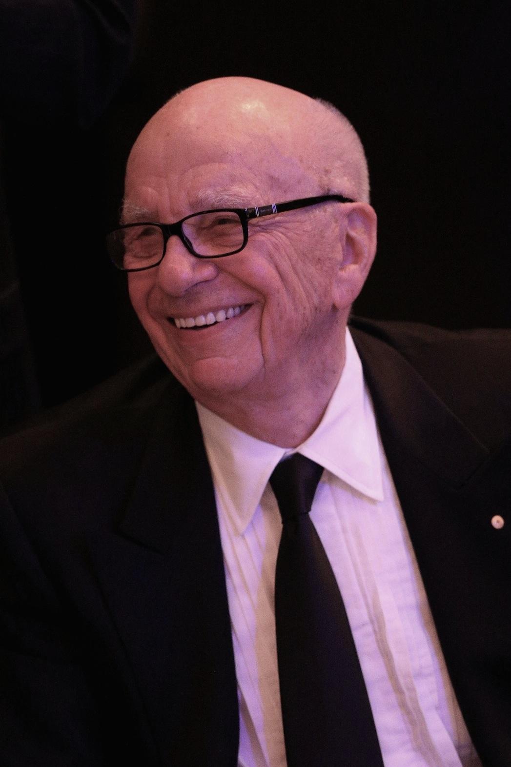 Rupert Murdoch Oct 2013 P