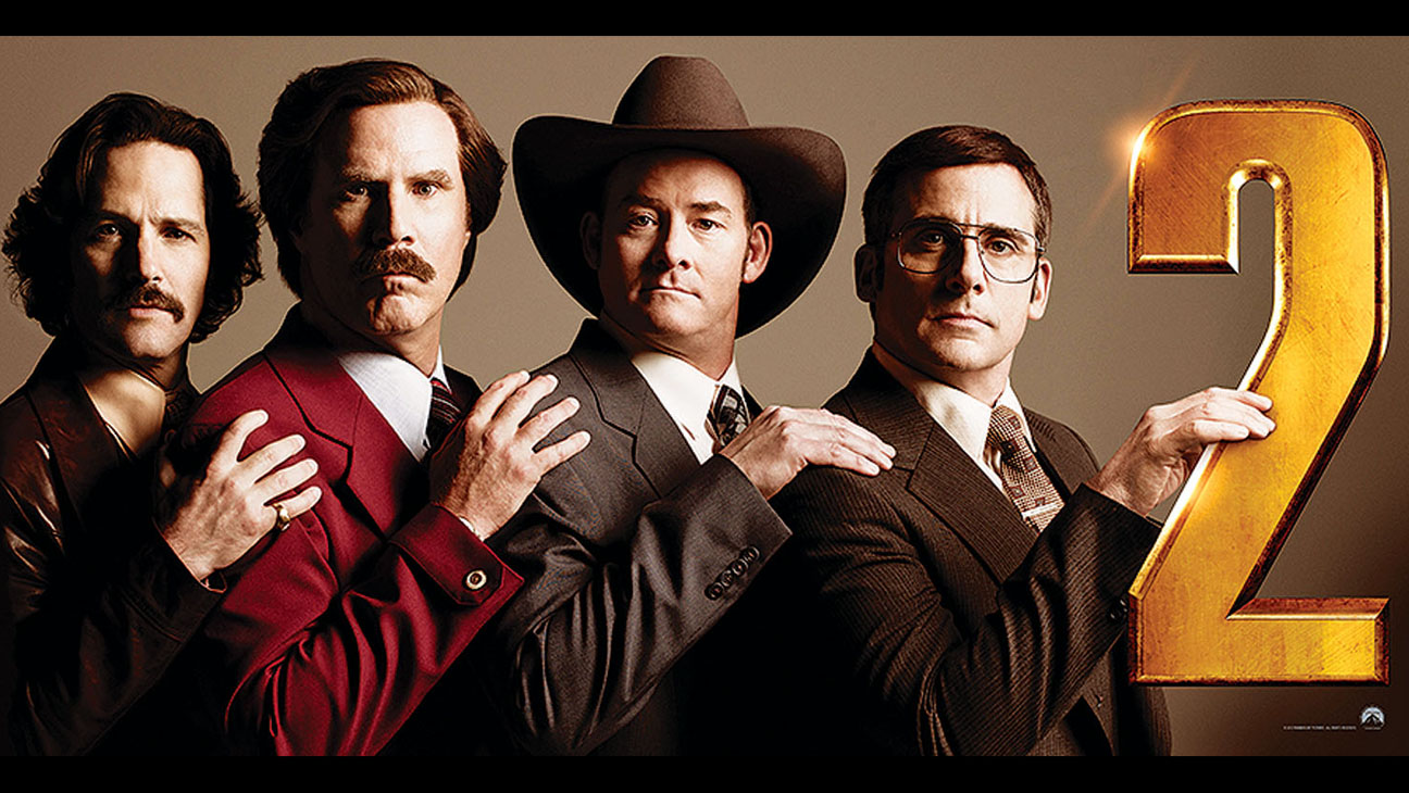 'Anchorman 2: The Legend Continues'