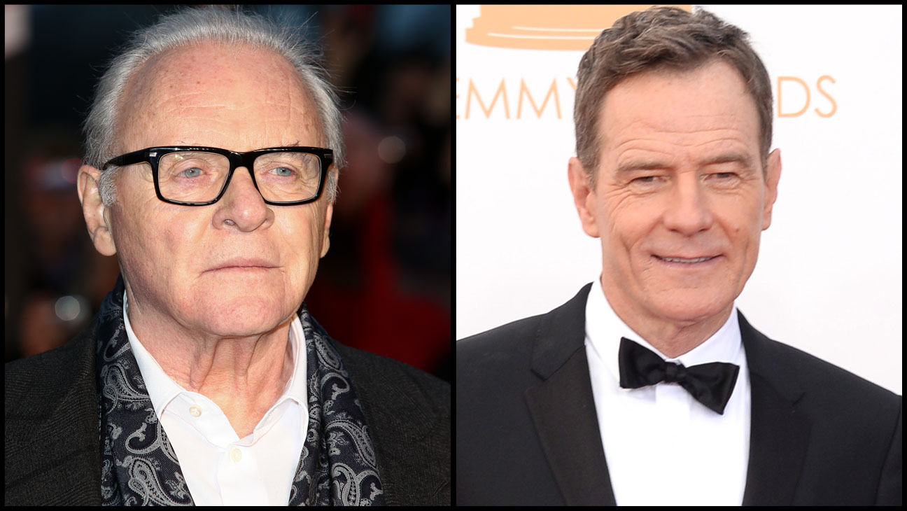 Anthony Hopkins Bryan Cranston - H 2013