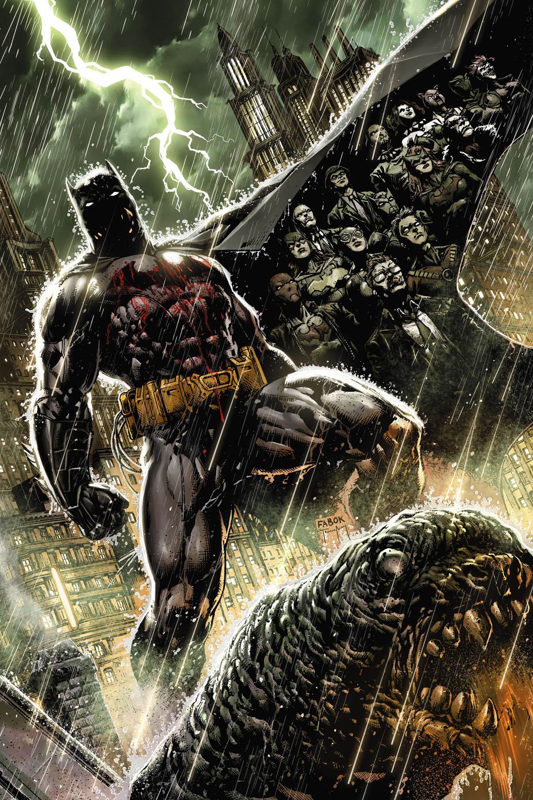 Batman Eternal Cover Art - P 2013