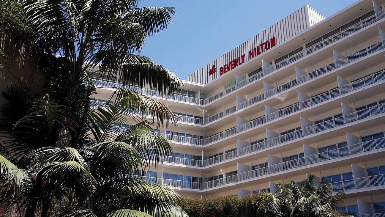 Beverly Hilton Exterior - H 2013