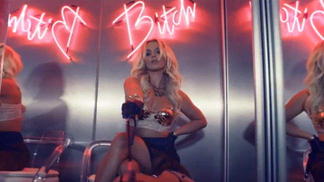 Britney Spears 'Work Bitch' Music Video H 2013