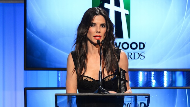 Sandra Bullock Hollywood Film Awards H 2013