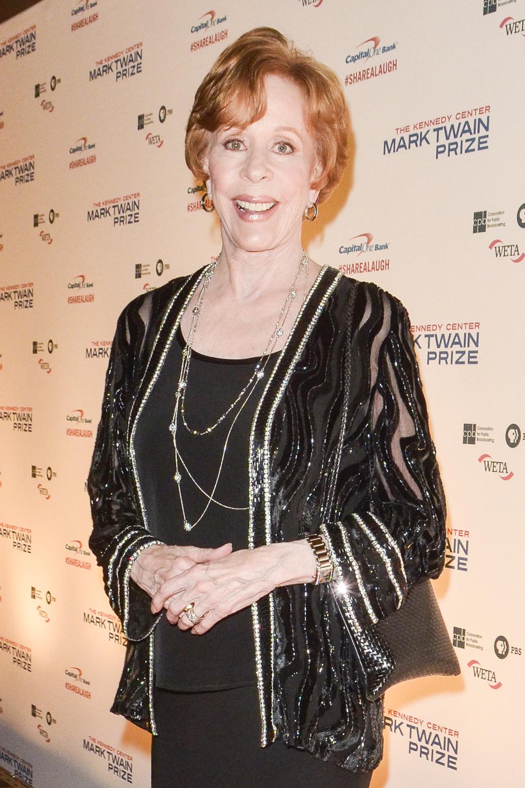 Carol Burnett - Kennedy Center Honors - P 2013