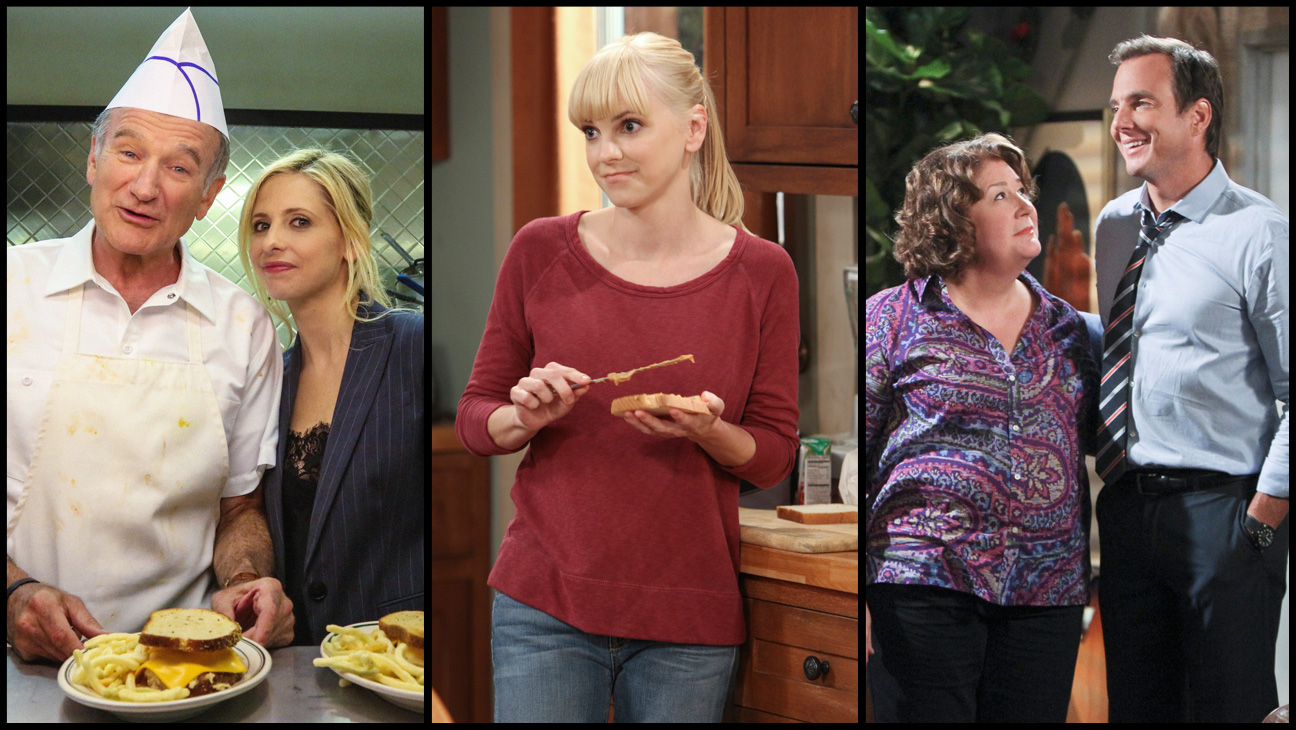 The Crazy Ones The Millers Mom Split - H 2013