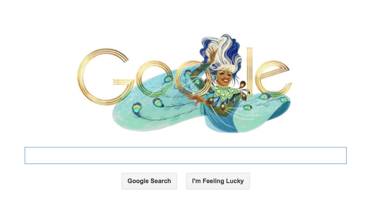 Celia Cruz Google Doodle - H 2013