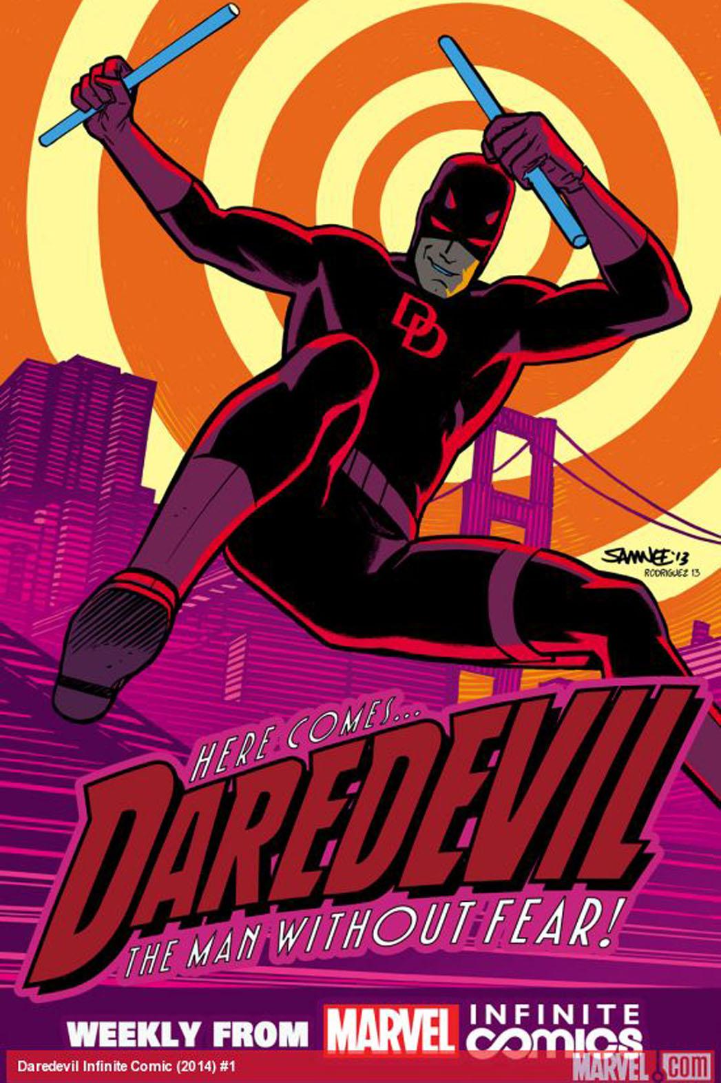 Daredevil Road Warrior Cover - P 2013