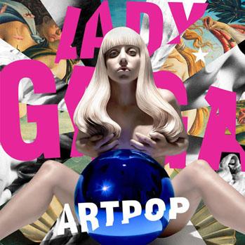 Lady Gaga Artpop Album Cover - S 2013