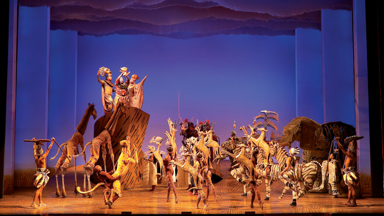 Lion King Broadway Stage - H 2013