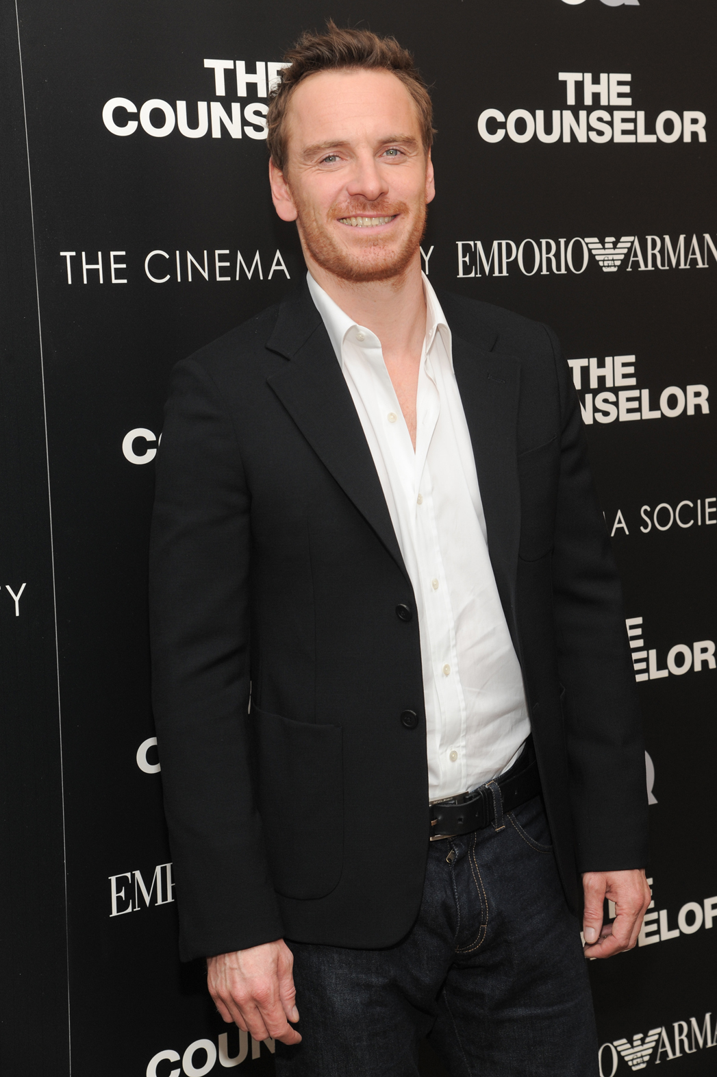 Michael Fassbender The Counselor NY Screening - P 2013