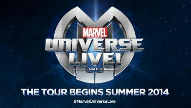Marvel Universe Live Logo - H 2013