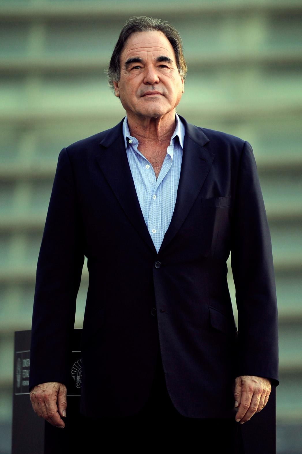 Oliver Stone San Sebastian Film Festival - P 2013