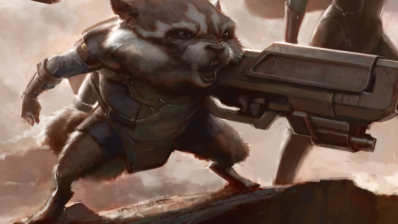 Rocket Raccoon Guardians - H 2013