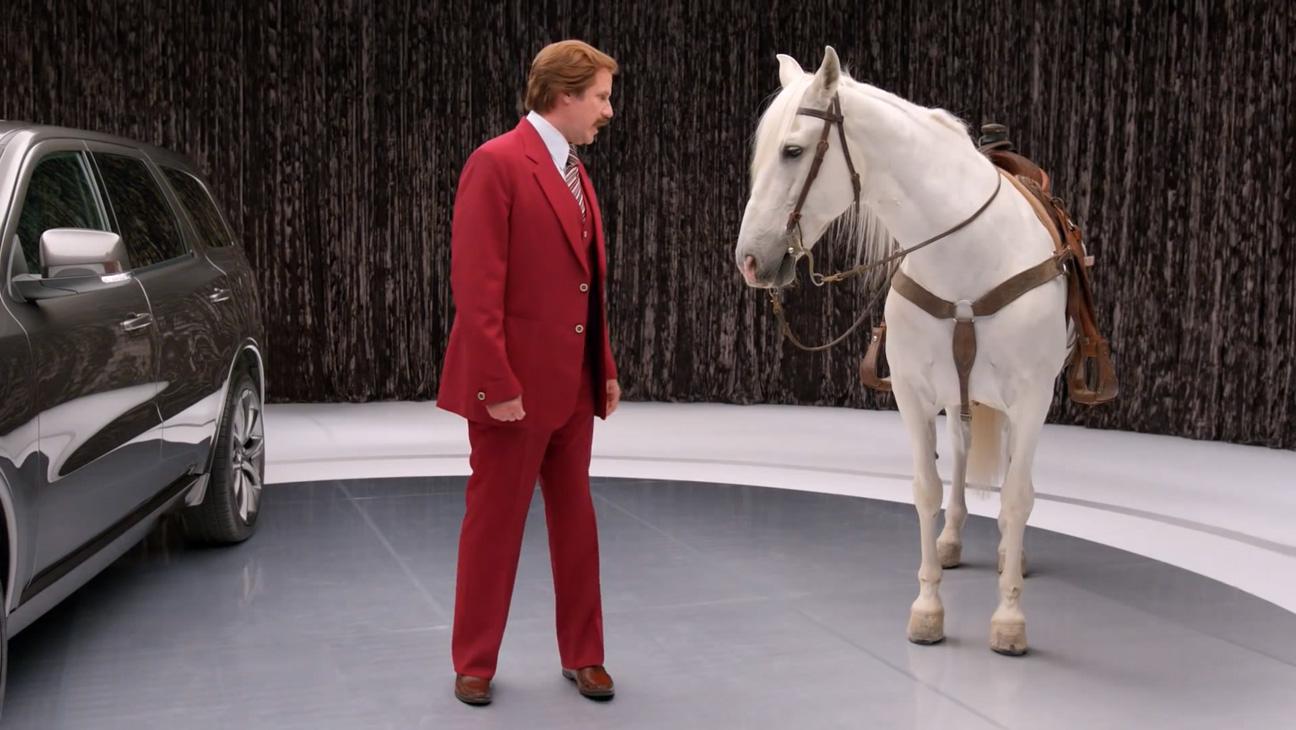 Ron Burgandy Dodge Commercial - H 2013