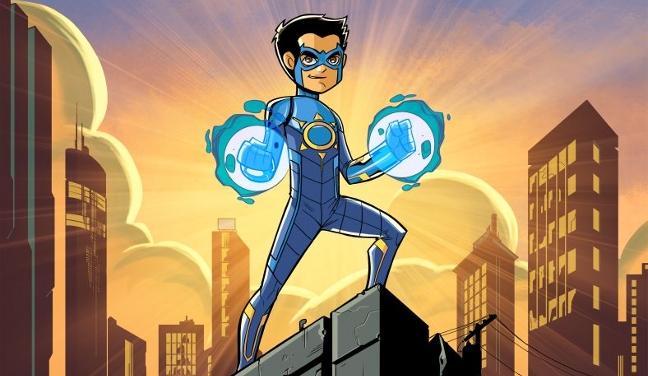 Stan Lee - Indian superhero Chakra