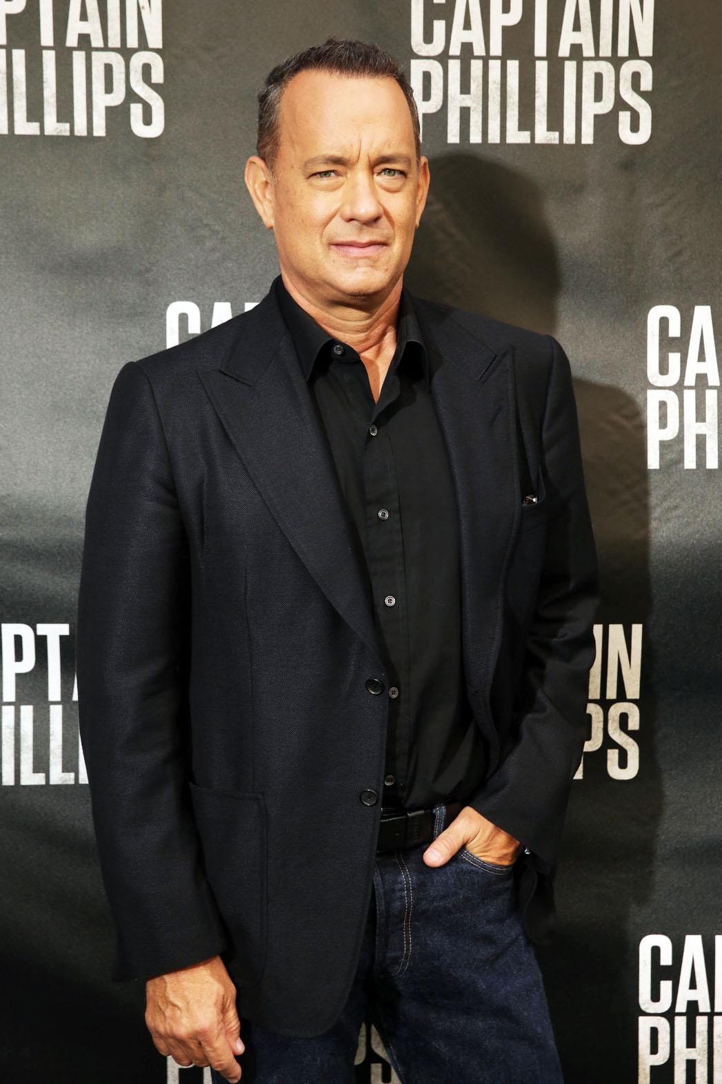 Tom Hanks Captain Phillips Premiere - P 2013