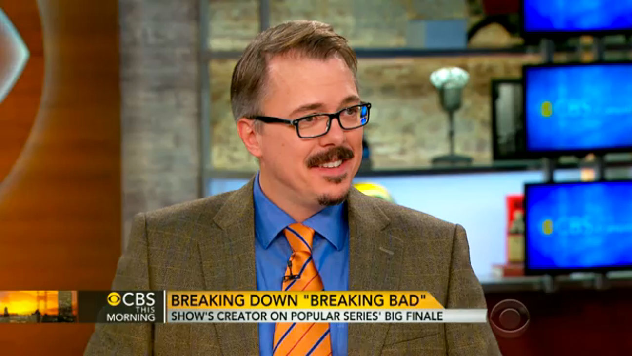 Vince Gilligan on CBS This Morning - H 2013