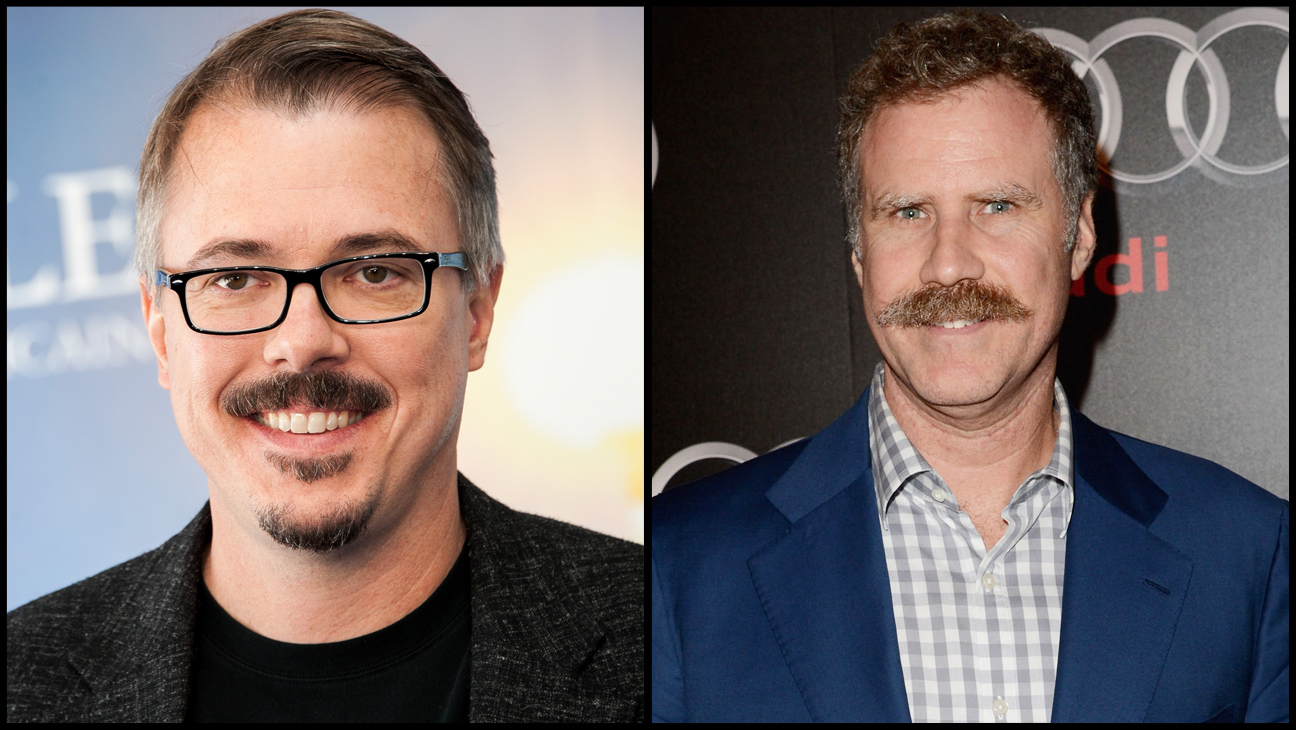 Vince Gilligan Will Ferrell Split - H 2013