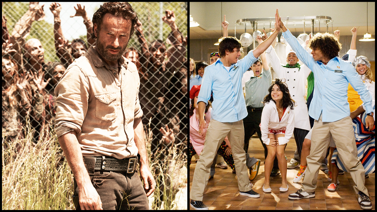 The Walking Dead High School Musical 2 Split - H 2013