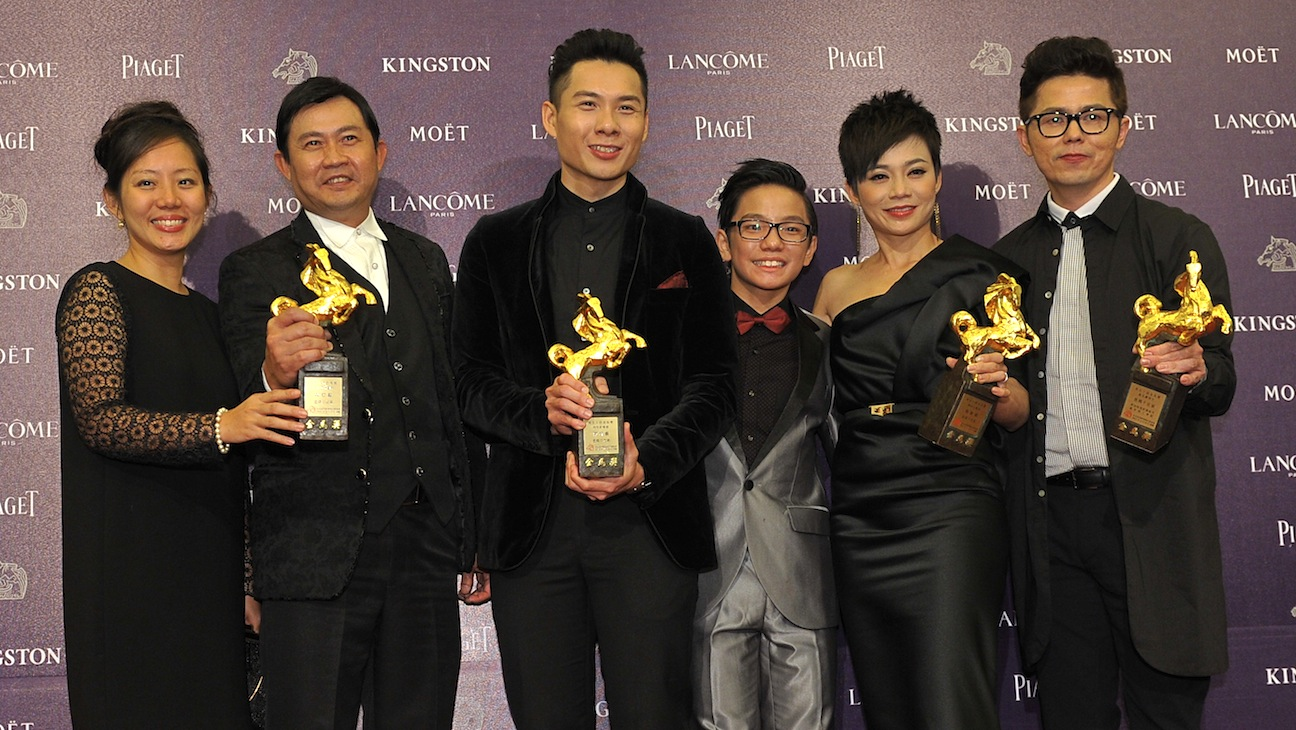 Anthony Chen and Cast Golden Horse Awards H
