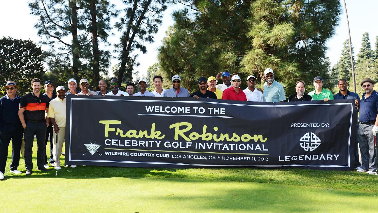 Frank Robinson charity golf tournament - H 2013