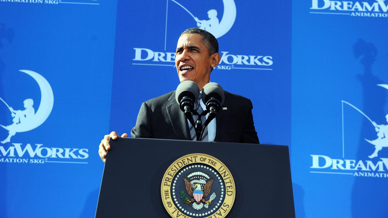 Barack Obama Dreamworks Speech 1 - H 2013