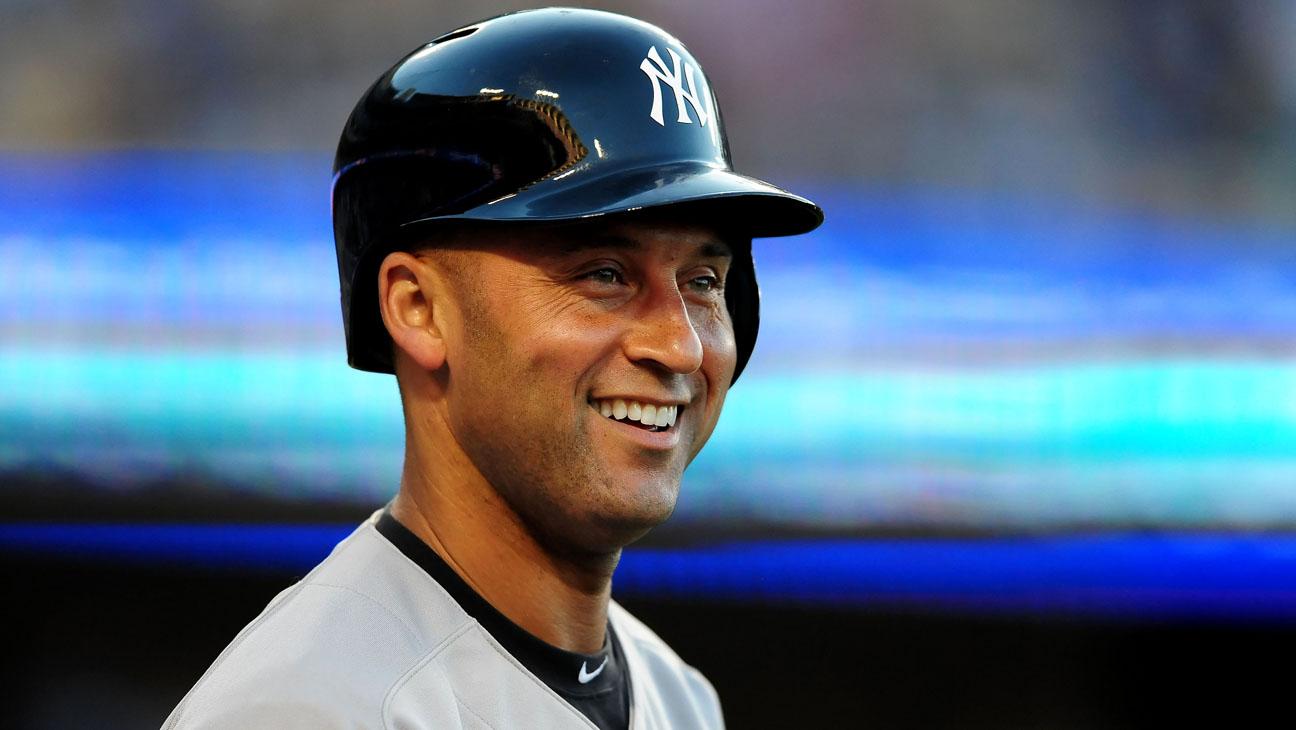 Derek Jeter Yankees Shortstop - H 2013