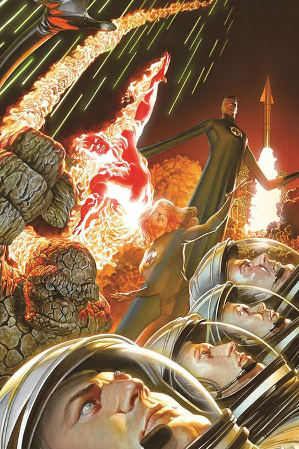 Fantastic Four Ross Cover - P 2013
